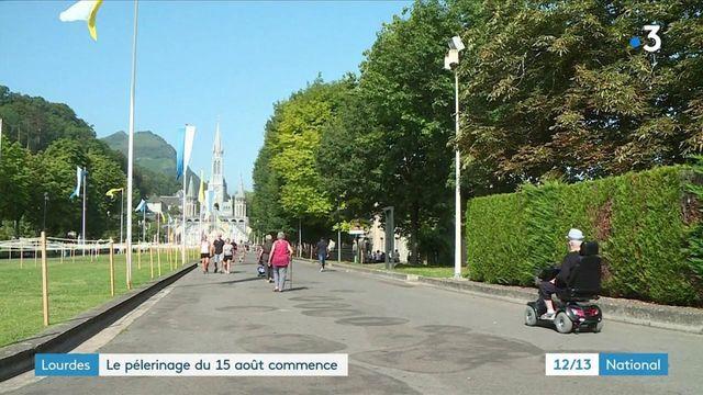Lourdes : un pèlerinage national sous restrictions sanitaires