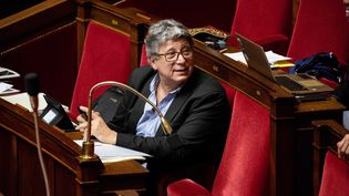 Le député de Seine-Saint-Denis La France insoumise, Éric Coquerel. Ici en avril 2018 à l'Assemblée nationale. (MAXPPP)