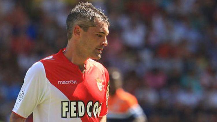 Le milieu de terrain de l'AS Monaco, Jérémy Toulalan