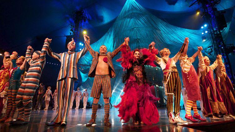 Le Cirque du Soleil lors de son passage en Espagne  (Bravo Press SA / Rex Fe/REX/SIPA)
