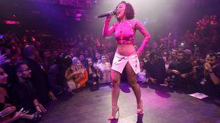 La chanteuse Doja Cat en concert à Miami, Floride. Le 11 juillet 2021 (FRAZER HARRISON / GETTY IMAGES NORTH AMERICA)