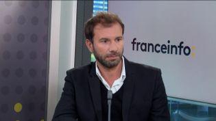 Mathieu Plane,économiste à l'OFCE, était l'invité éco de franceinfo le jeudi 15 octobre 2020. (FRANCEINFO / RADIOFRANCE)