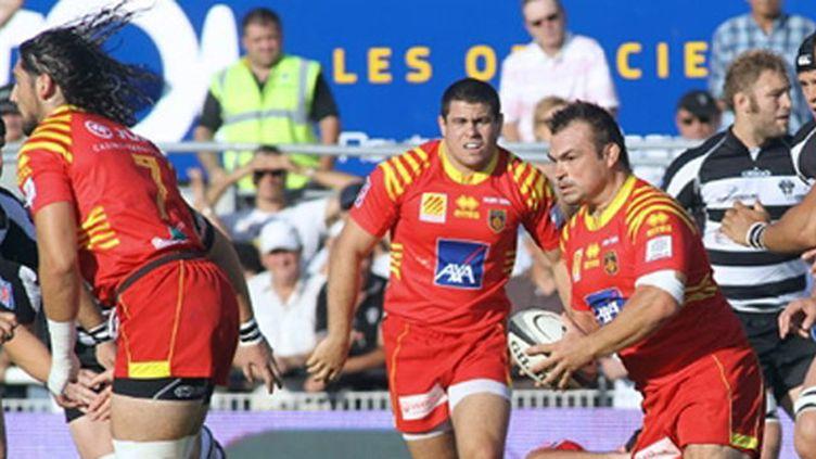 Nicolas Mas ballon en main