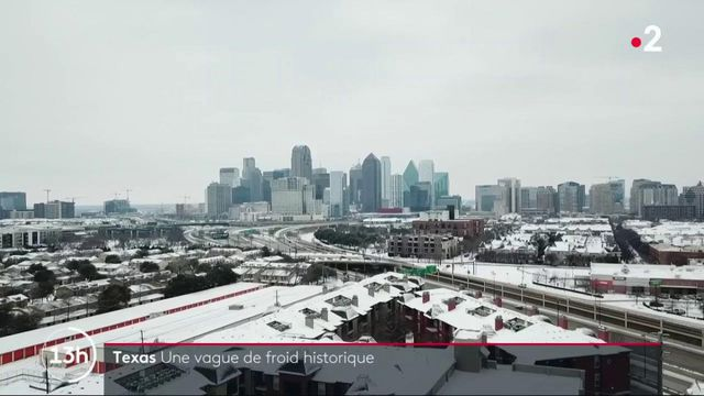 États-Unis : la ville de Dallas, au Texas, est paralysée par le froid