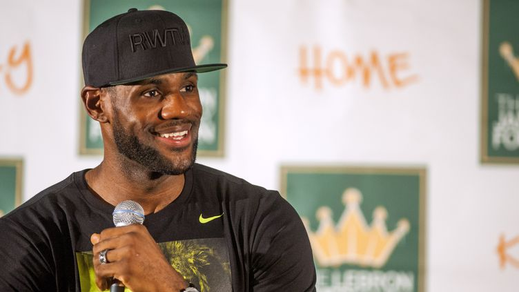 LeBron James (TY WRIGHT / GETTY IMAGES NORTH AMERICA)