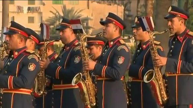 Ecoutez la Marsaillaise jouée par l'orchestre de l'armée egyptienne