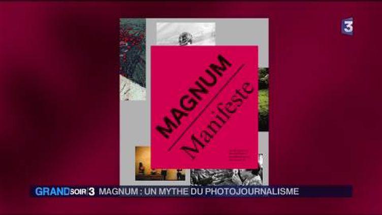 La couverture du livre Magnum Manifeste (France 3)