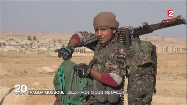 Syrie  : l'offensive pour libérer Raqqa a été lancée