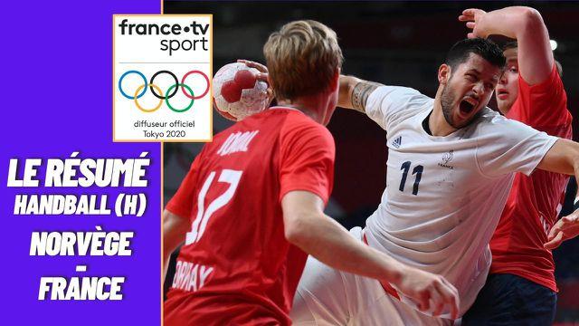 La première défaite de l'équipe de France de handball masculine. Les Bleus, déjà qualifiés avant la rencontre se sont inclinés 32-29 face à la Norvège.   Prochain rendez-vous face à Bahreïn en quarts, mardi.