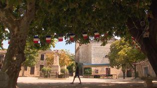 La canicule s'intensifie à Montclus, un village du Gard. (FRANCE 3)
