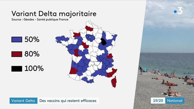 Variant Delta du Covid-19 : l'Institut Pasteur teste l'efficacité des vaccins