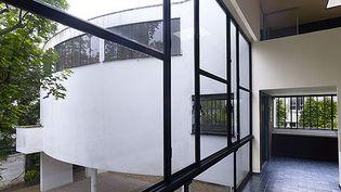C'est au fond d'une impasse dans le 16e à Paris qu'on peut découvrir la maison La Roche conçue par Le Corbusier et Jeanneret  (Cemal Emden )