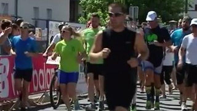 Ludovic a enchainé 41 triathlons en 41 jours