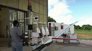 Au Ghana, des drones livrent des vaccins anti-Covid en quelques minutes seulement. (CAPTURE ECRAN FRANCE 2)