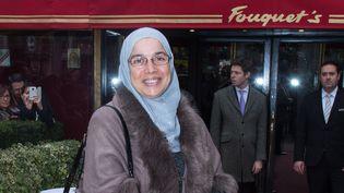 Soria Zéroual à Paris avant la cérémonie des César  (LIONEL URMAN/SIPA)