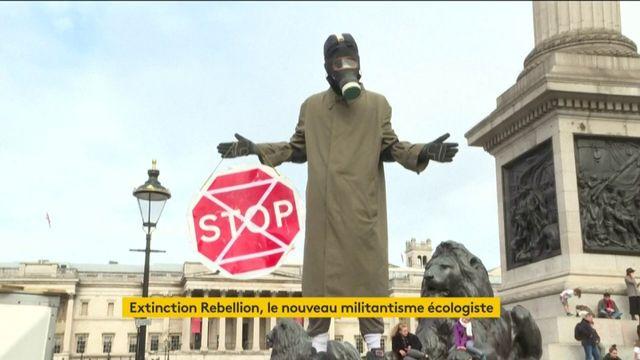 Climat : actions coup de poing d'Extinction Rebellion du Cap à New York en passant par Paris