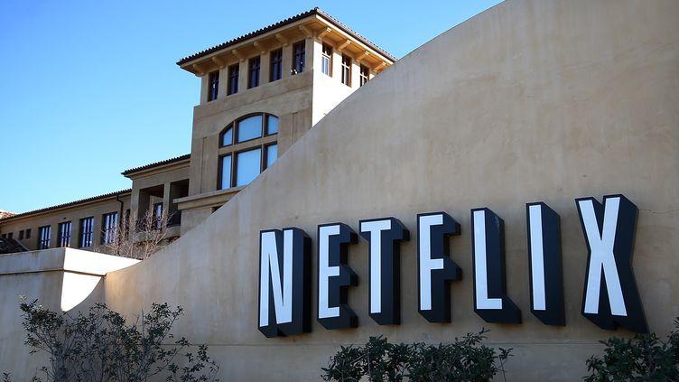 Le siège de Netflix à Los Gatos, en Californie.  (JUSTIN SULLIVAN / GETTY IMAGES NORTH AMERICA / AFP)