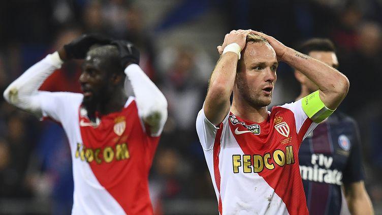 Valère Germain, le capitaine de l'AS Monaco (FRANCK FIFE / AFP)
