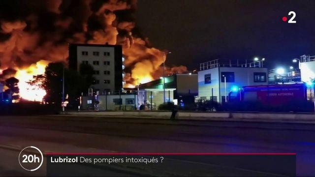 Incendie de l'usine Lubrizol : des pompiers ont eu des résultats d'analyses inquiétants