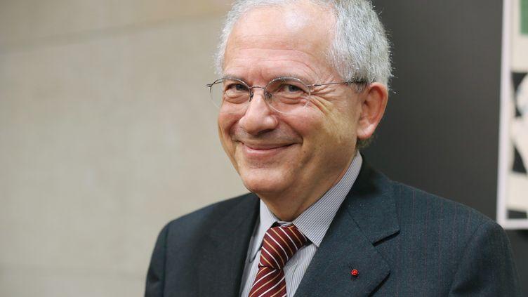 Olivier Schrameck, président du Conseil supérieur de l'audiovisuel (CSA), le 23 janvier 2013 à Paris. (THOMAS SAMSON / AFP)