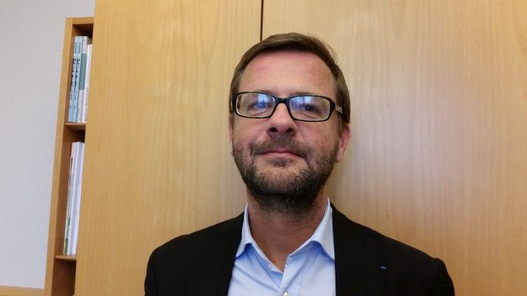 Jérôme Lavrilleux, le directeur adjoint de la campagne de Nicolas Sarkozy en 2012.  (Benoît Collombat / Radio France)