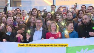 Les députés européens du Royaume-Uni ont dit au revoir au Parlement européen (FRANCEINFO)
