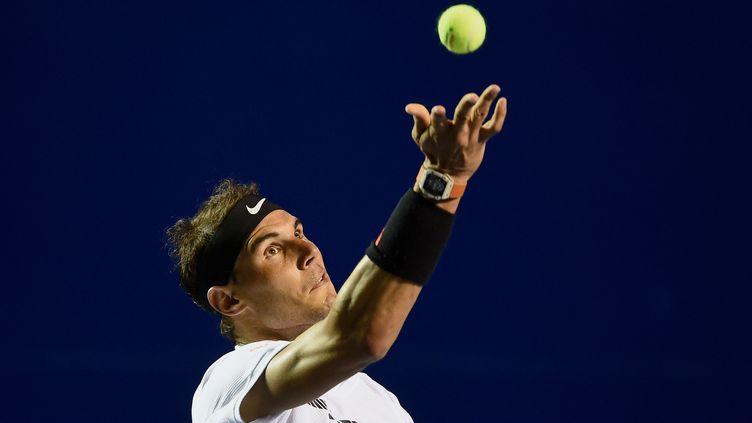 Le joueur de tennis Rafael Nadal (ALFREDO ESTRELLA / AFP)