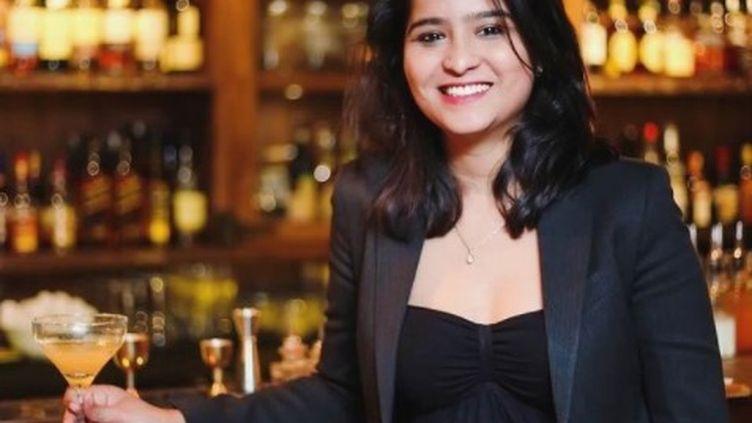Minakshi Singh, patronne du meilleur bar de toute l'Inde; (CAPTURE D'ECRAN INSTANGRAM)
