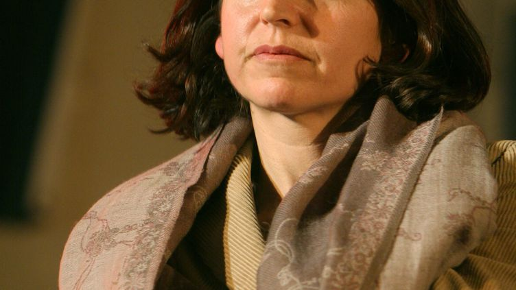 L'élue écolo Florence Lamblin, adjointe à l'environnement et au développement durable du marie du 13e arrondissement de Paris, le 19 février 2008. (CAROLINE GAUTRON / MAXPPP)