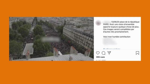 Vrai ou Fake : des drones de la préfecture de police ont-ils survolés des manifestations ?