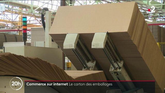 E-commerce : la difficile production des cartons d'emballage