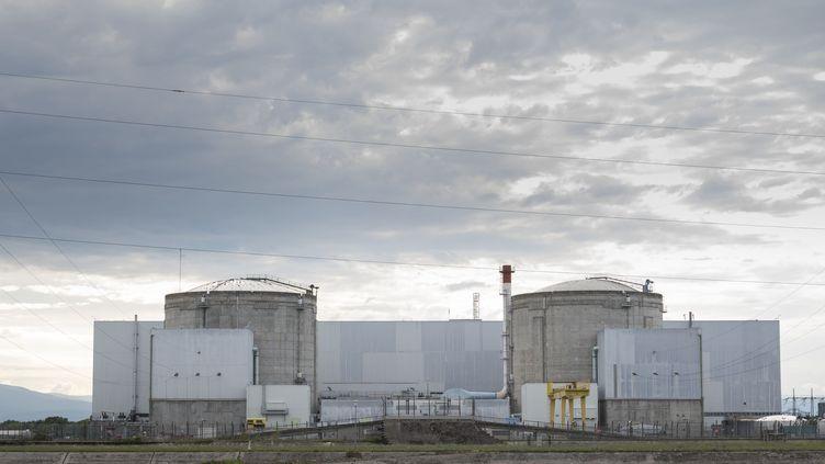 La centrale nucléaire de Fessenheim (Haut-Rhin), le 26 juin 2020. (SEBASTIEN BOZON / AFP)