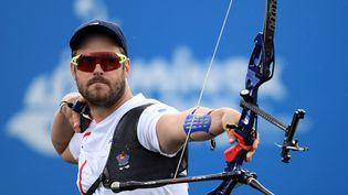 L'archer Jean-Charles Valladont lors des Jeux européens à Minsk en 2019. (PHILIPPE MILLEREAU / KMSP)