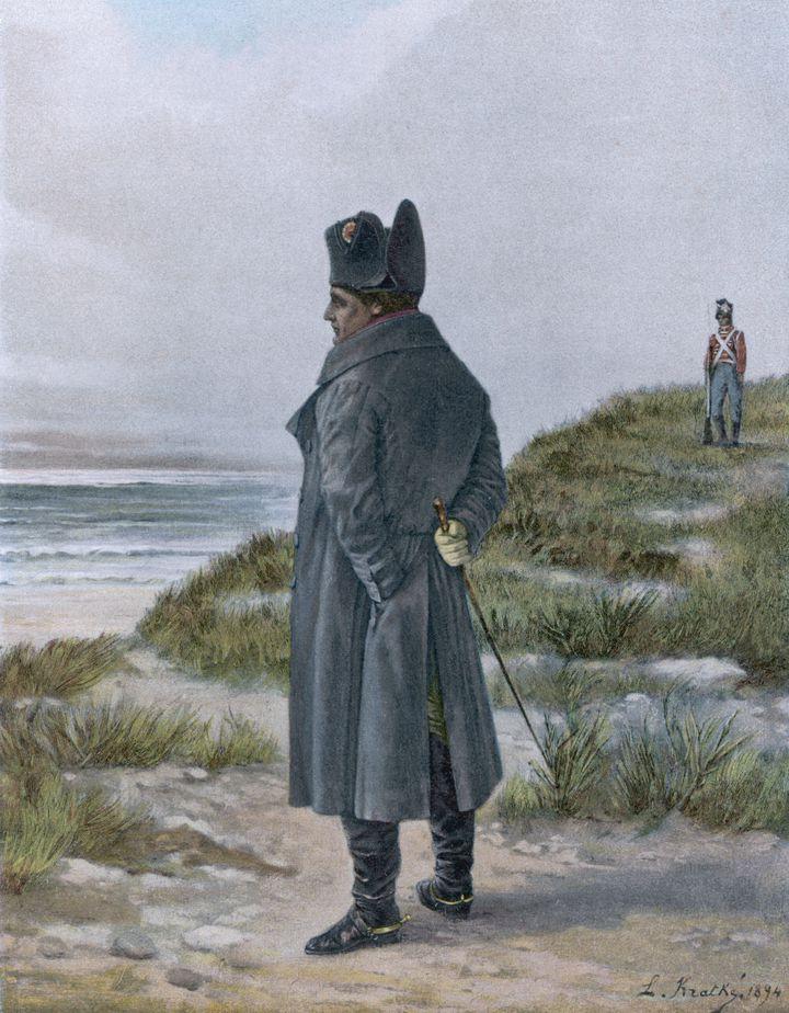 Napoléon, empereur déchu et prisonnier des Britanniques, en exil à Sainte-Hélène (Mary Evans Picture Library/SIPA / SIPA)