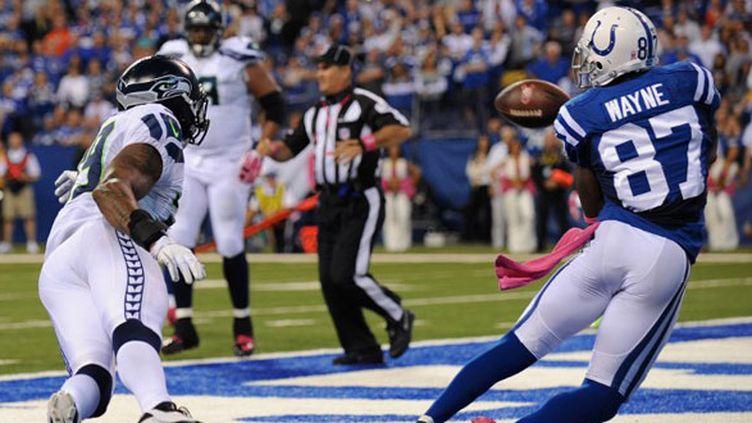 Les Colts inscrivent un touchdown grâce à Wayne