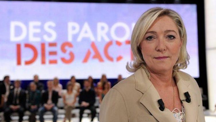 Marine Le Pen en juin à DPDA (BERTRAND GUAY / AFP)