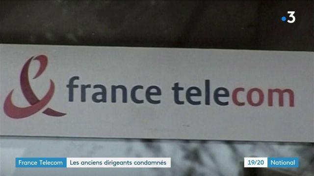 France Télécom : des anciens dirigeants condamnés
