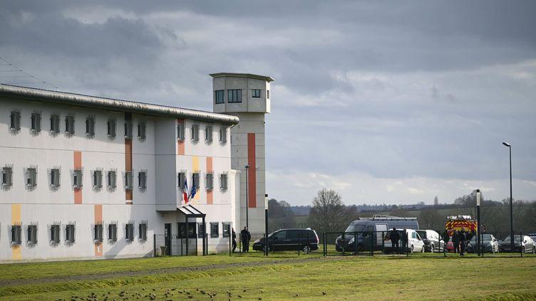 La prison de Condé sur Sarthe dans l'Orne (THOMAS BR?GARDIS / MAXPPP)