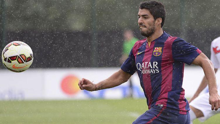 L'attaquent du Barça Luis Suarez