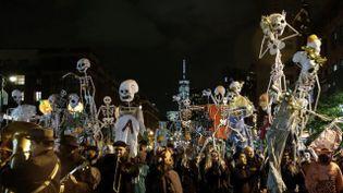 Une soirée d'Halloween aux USA. (  MAXPPP)