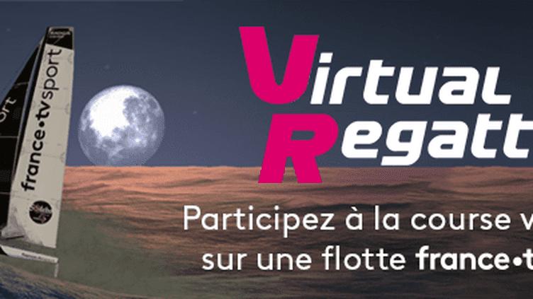 Embarquez sur un bateau aux couleurs de France TV Sport avec le jeu virtuel du Vendée Globe.