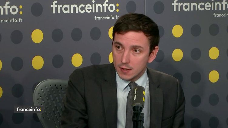 Aurélien Taché, député LREM du Val d'Oise, invité de franceinfo le 7 février 2019. (FRANCEINFO / RADIOFRANCE)