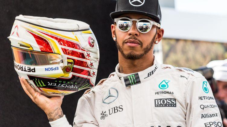 Lewis Hamilton (Mercedes) est une rockstar en Formule 1 (ASANKA BRENDON RATNAYAKE / ANADOLU AGENCY)