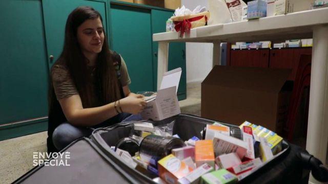 Envoyé spécial. Liban : face aux pénuries de médicaments, une pharmacie parallèle dans une valise