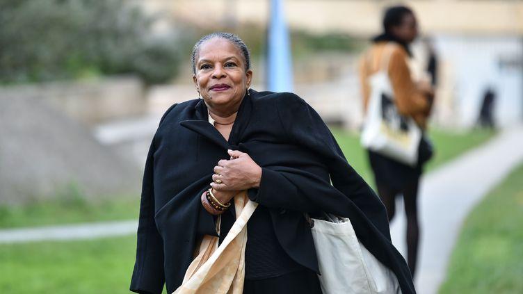 L'ancienne ministre de la Justice Christiane Taubira à Bordeaux, le 24 novembre 2016. (UGO AMEZ/SIPA)