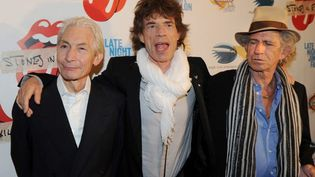 The Rolling Stones à New York (USA) en mai 2010  (S.Honda. AFP)