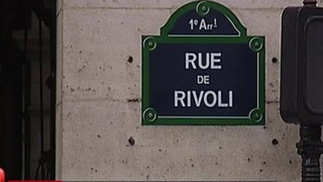 La rue de Rivoli a perdu de son prestige