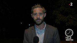 Marc de Chalvron, correspondant de France 2 en Afrique. (FRANCE 2)