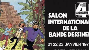 L'affiche de l'édition 1977  (Festival International de la Bande Dessinée d'Angoulême)