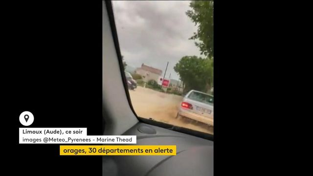Météo : d'importants orages ont touché l'Occitanie